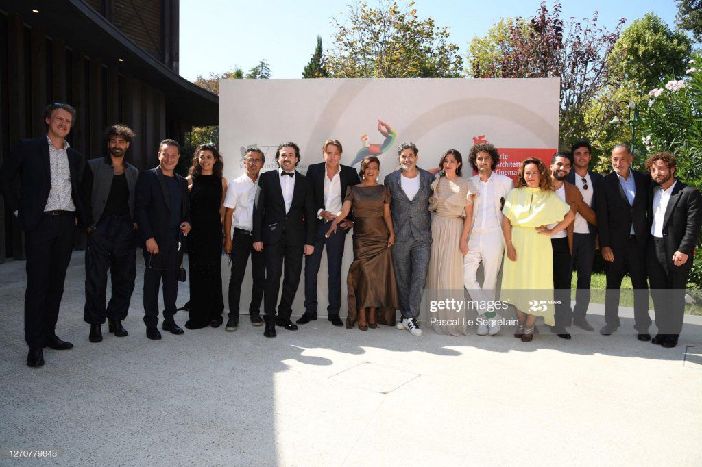 05/09/2020 - VENISE - AVANT PREMIERE EQUIPE FESTIVAL - THE MAN WHO SOLD HIS SKIN